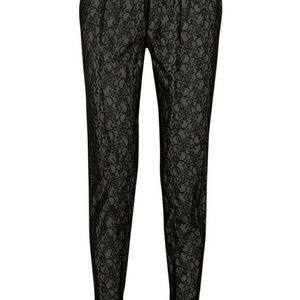 Alice & Olivia size 6 S lace pants trousers